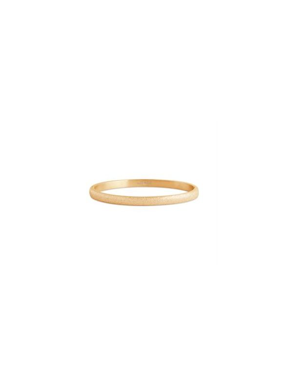 Diamond Dust Gold Bangle