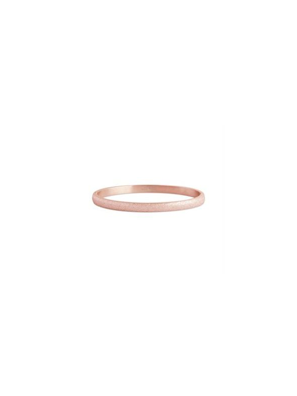 Diamond Dust Rose Gold Bangle