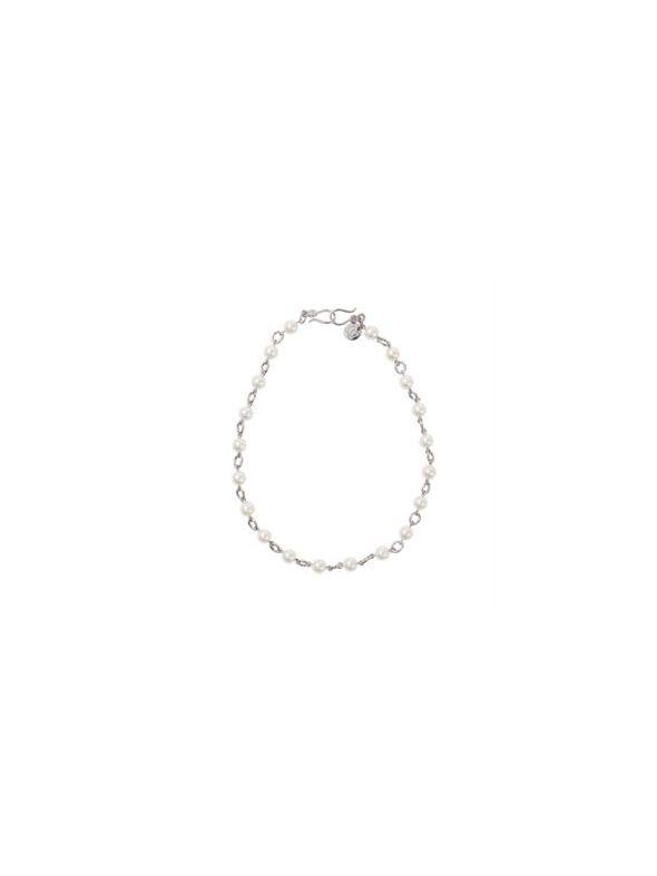 Simply Pearl Silver Chain