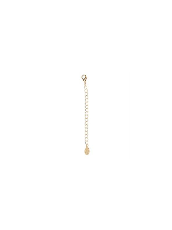 Gold Necklace Extender - 3""