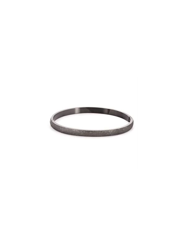 Graphite Diamond Dust Bangle