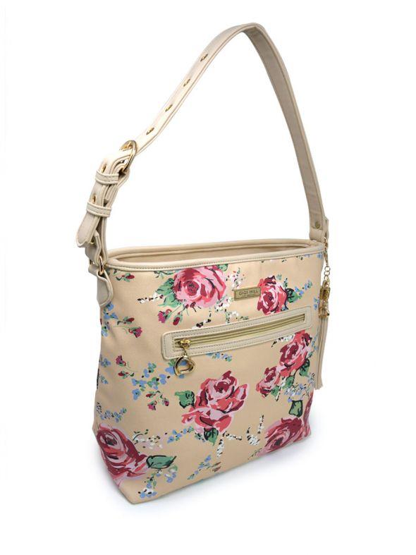 Stella Antique Floral Large Handbag
