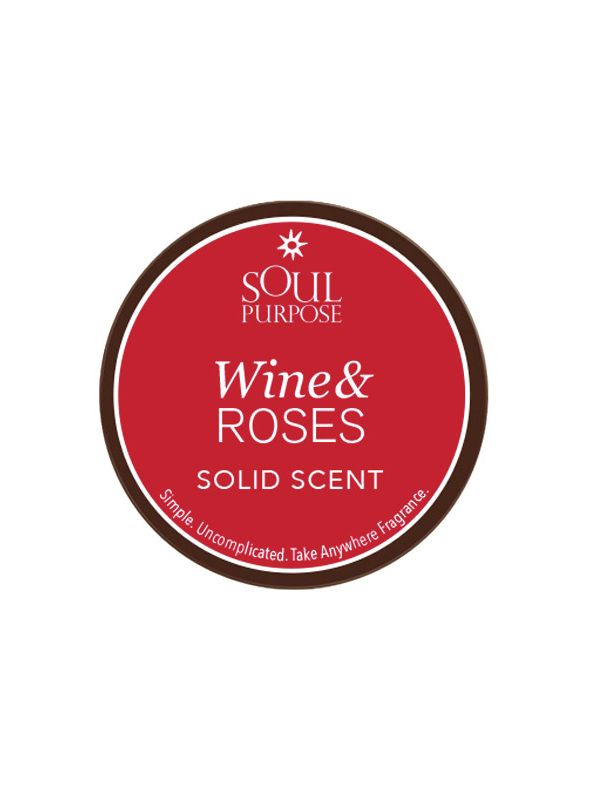Wine and Roses Solid Perfume