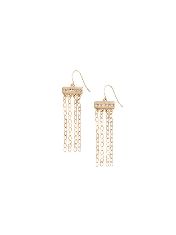 Golden Sparkle Earrings