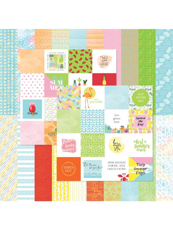 Summer Collection Designer Cardstock