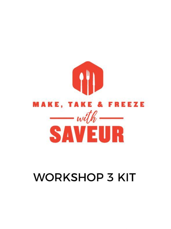 Make, Take and Freeze Workshop Kit 3