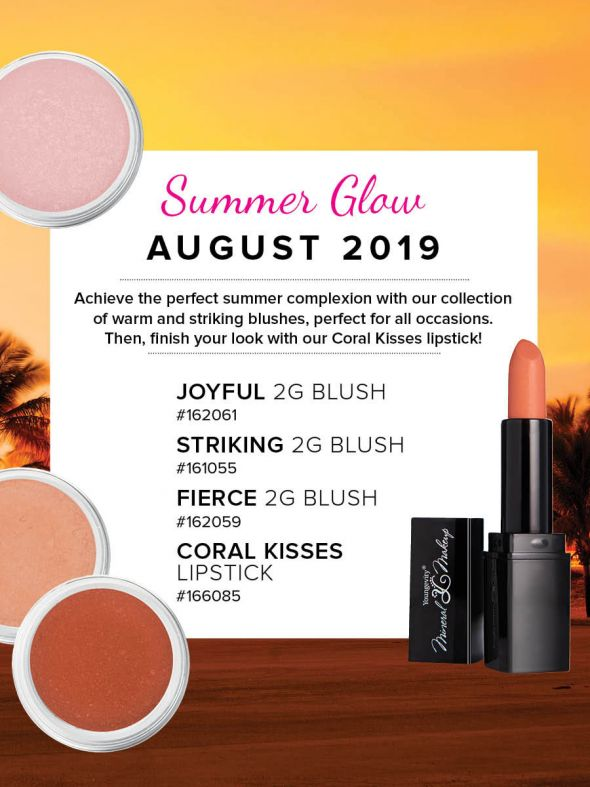 Mineral Makeup of the Month Club - August 2019