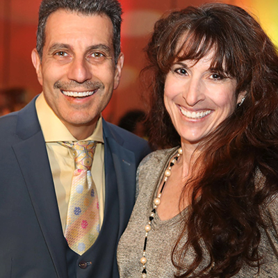 ADRIENNE AND DR. COREY GOLD, DDS